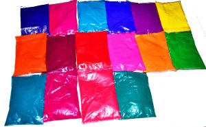 17 Packs of Holi Colors