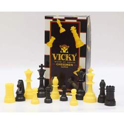 "Vicky ""Super"" Chess Pieces"