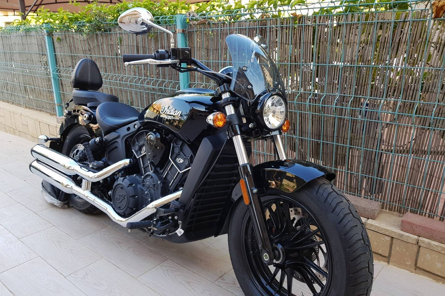 Indian Scout - Marlin Marlin flyscreen Dart Flyscreen Windshield