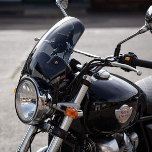 Royal Enfield Interceptor 650 - Marlin Classic Flyscreen Dart Flyscreen Windshield