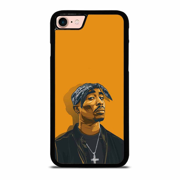 2PAC TUPAC SHAKUR HIP HOP RAP iPhone 7 / 8 Case Cover