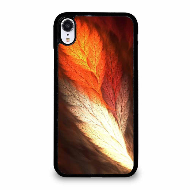 ABSTRACT FEATHERS iPhone XR Case
