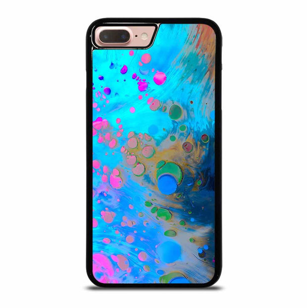 ABSTRACT MARBLING ART PATTERNS AS COLORFUL iPhone 7/8 Plus Case