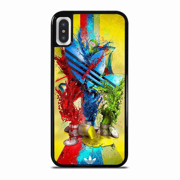 ADIDAS PAINT LOGO iPhone X/XS Case