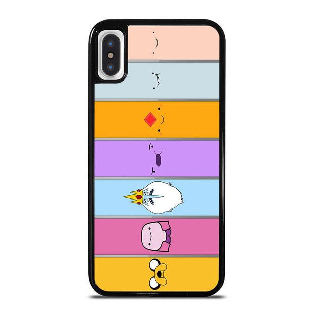 ADVENTURE TIME CHARACTERS iPhone X / XS Case Cover