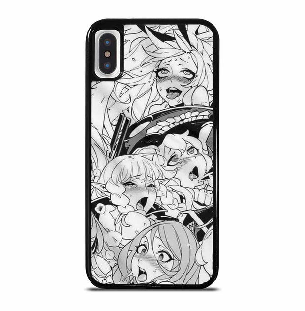 AHEGAO SEXY ANIME GIRLS iPhone X / XS Case Cover
