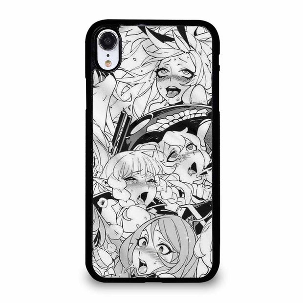 AHEGAO SEXY ANIME GIRLS iPhone XR Case
