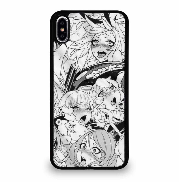 AHEGAO SEXY ANIME GIRLS iPhone XS Max Case