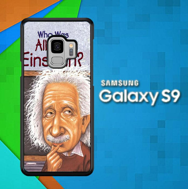 ALBERT EINSTEN HAIR V0598 Samsung Galaxy S9 Cover Cases