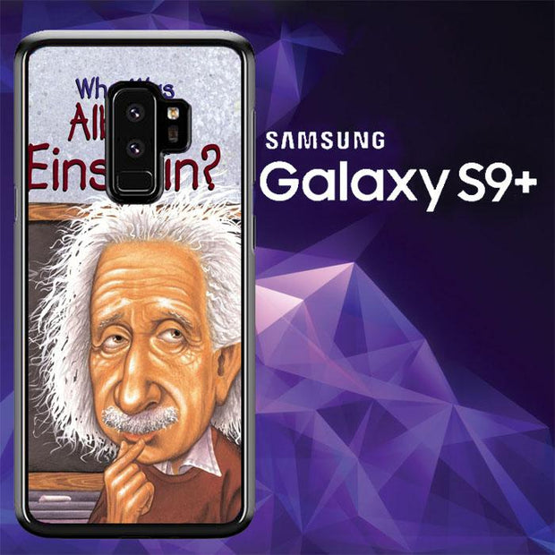 ALBERT EINSTEN HAIR V0598 Samsung Galaxy S9 Plus Cover Cases