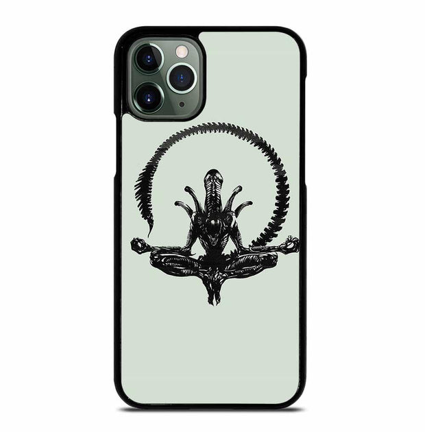 ALIEN MEDITATING iPhone 11 Pro Max Case