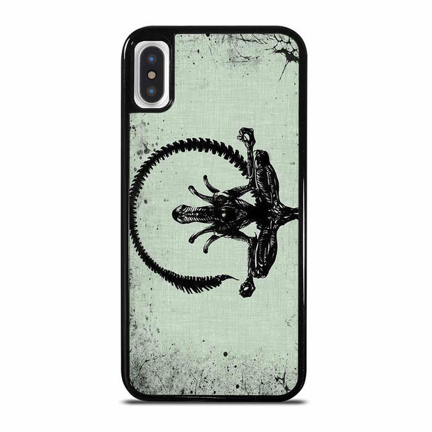 ALIEN MEDITATION iPhone X / XS Case