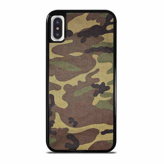 ARMY CAMOUFLAGE iPhone X / XS Case Cover