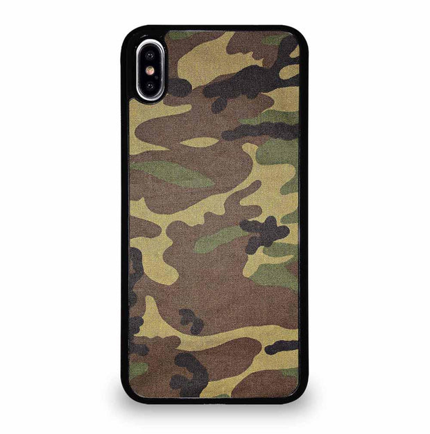 ARMY CAMOUFLAGE iPhone XS Max Case