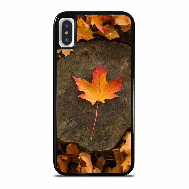AUTUMN LEAVES iPhone X / XS Case