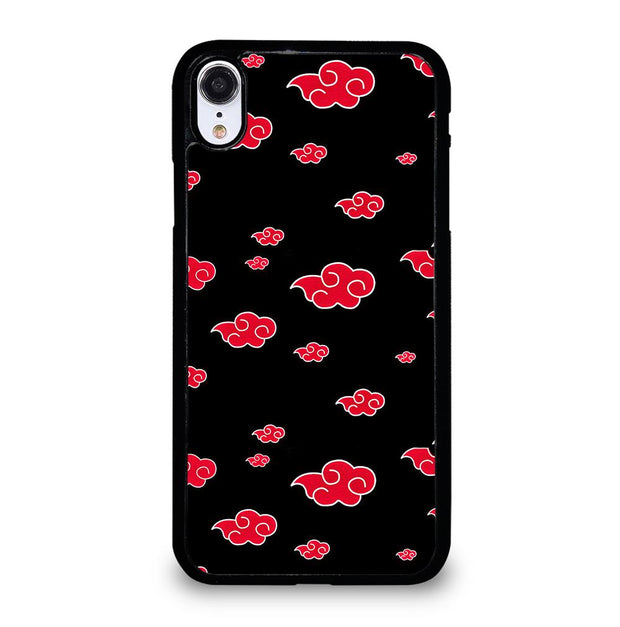 Akatsuki Clouds Naruto iPhone XR Case