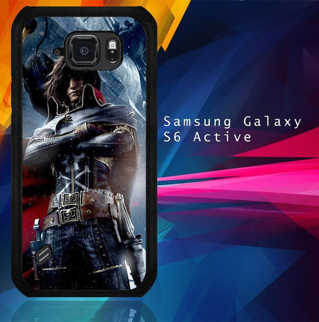 Albator Captain Harlock Z0401 Samsung Galaxy S6 Active Cover Cases
