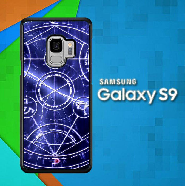 Alchemist Pentagram L1184 Samsung Galaxy S9 Cover Cases