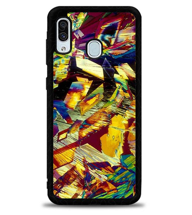 Alcohol Under A Microscope E1852 Samsung Galaxy A20 Cover Cases