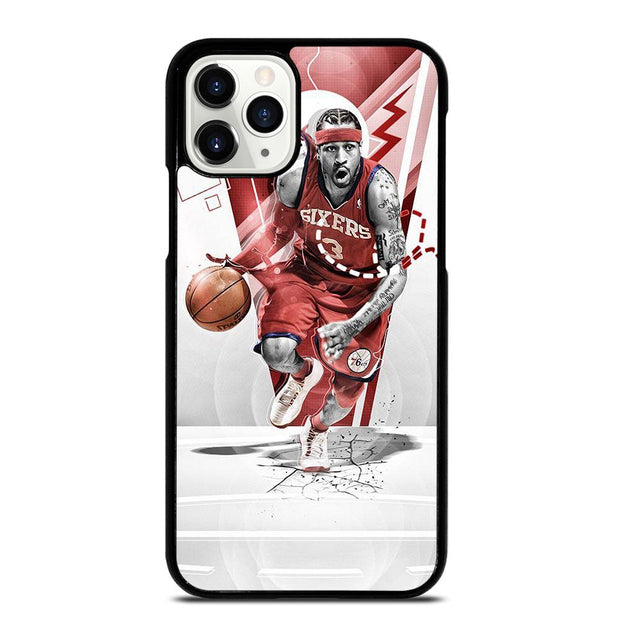 Allen Iverson Philadelphia 76ers iPhone 11 Pro Case
