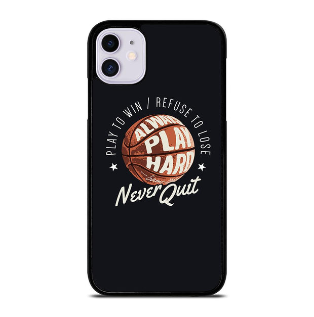 BASKETBALL QUOTES iPhone 11 Case