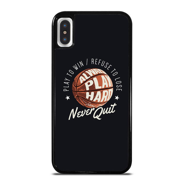 BASKETBALL QUOTES iPhone X / XS Case