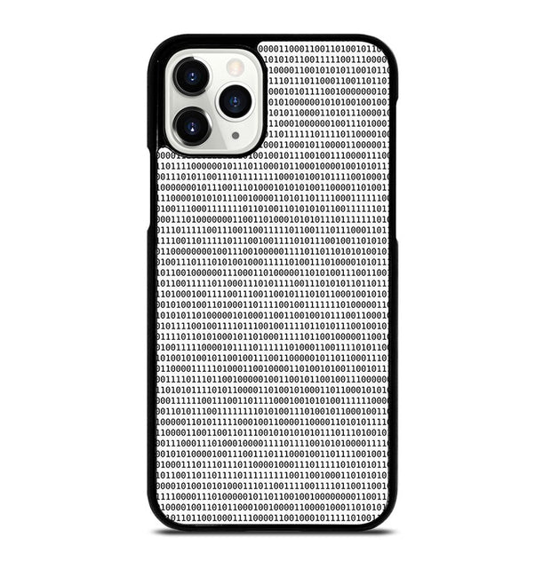 BINARY TEXTURE iPhone 11 Pro Case