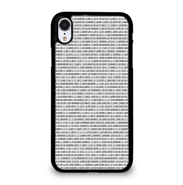 BINARY TEXTURE iPhone XR Case