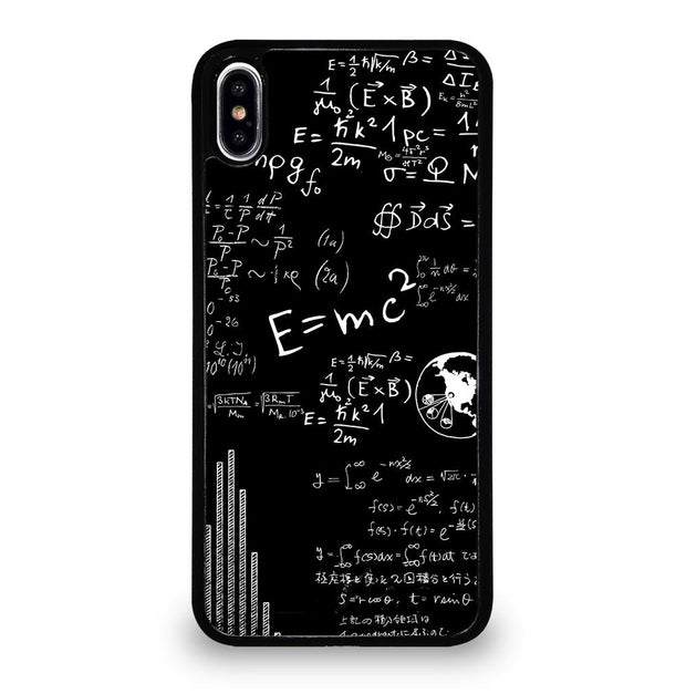 BLACKBOARD FORMULA iPhone XS Max Case