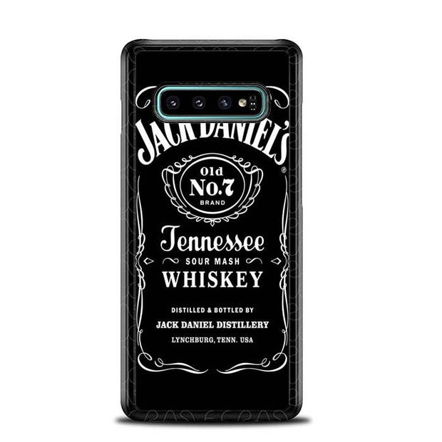 Jack Daniels O0485 Samsung Galaxy S10 Plus Cover Cases