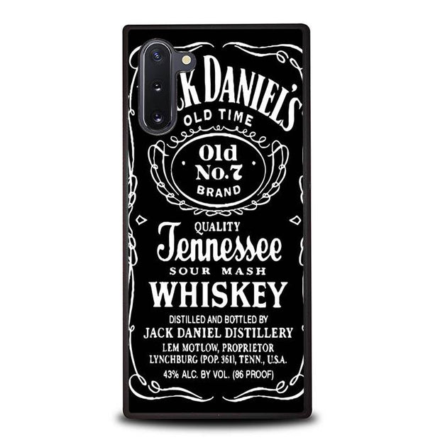 Jack Daniels X5979 Samsung Galaxy Note 10 Cover Cases