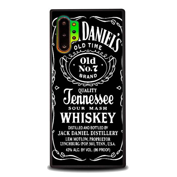 Jack Daniels X5979 Samsung Galaxy Note 10 Plus Cover Cases