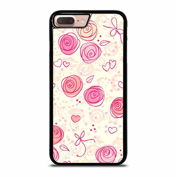 PINK FLOWER PATTERN iPhone 7/8 Plus Case