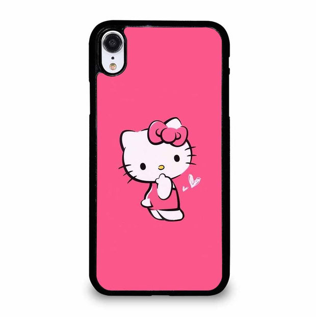 PINK HELLO KITTY iPhone XR Case