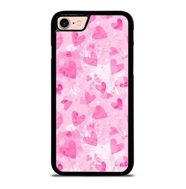 PINK LOVE HEART iPhone 7 / 8 Case