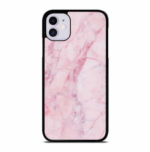 PINK MARBLE TEXTURE iPhone 11 Case Cover