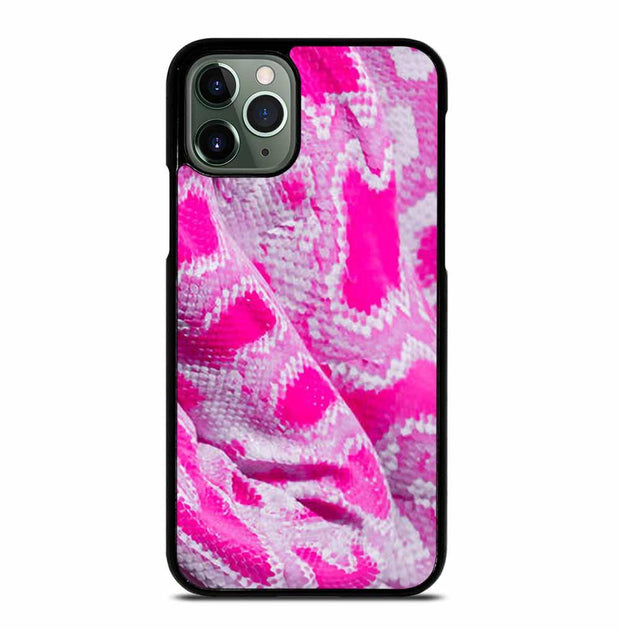 PINK SNAKE SKIN iPhone 11 Pro Max Case