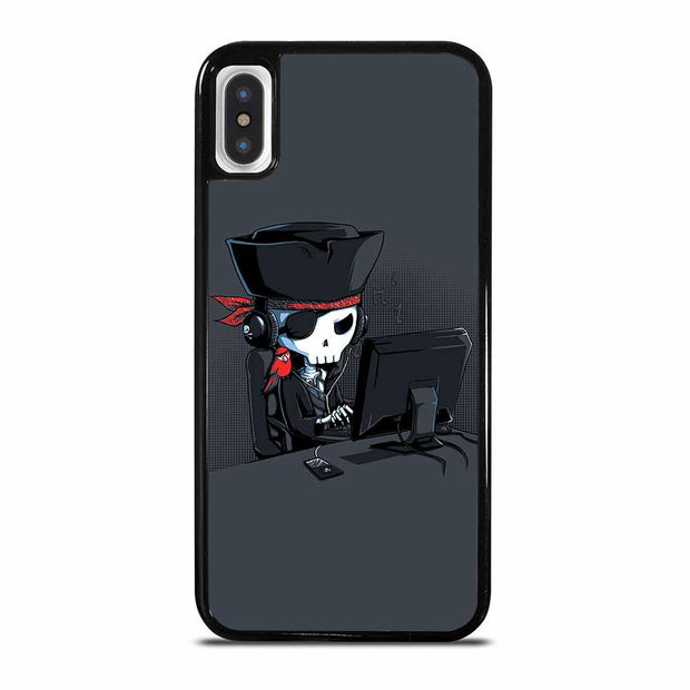 PIRATES HACKING iPhone X/XS Case