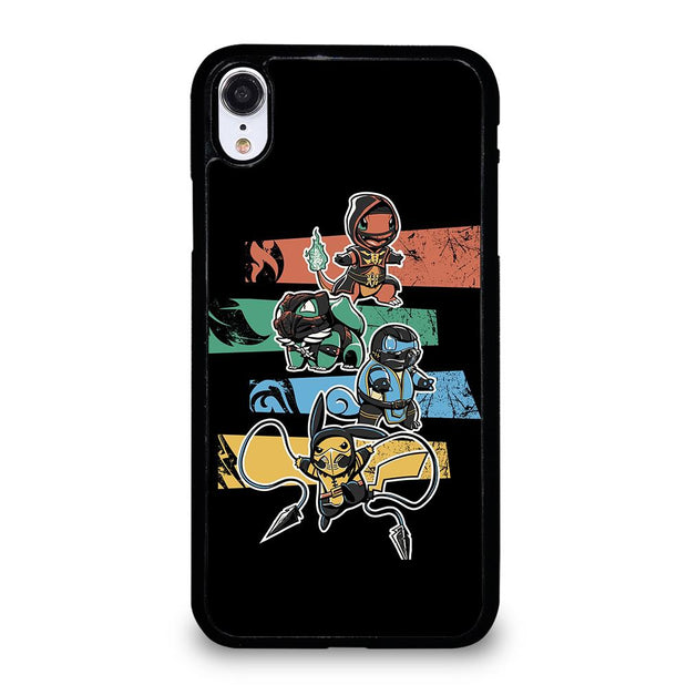 POKEMON MORTAL KOMBAT iPhone XR Case
