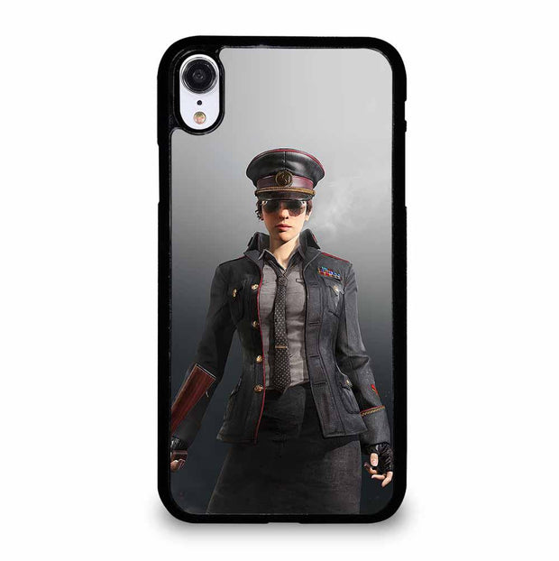 POLICE PUBG PLAYER iPhone XR Case