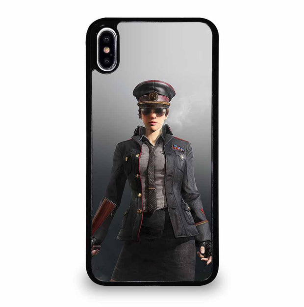 POLICE PUBG PLAYER iPhone XS Max Case
