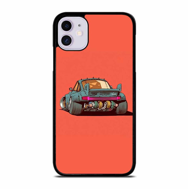 PORSCHE 911 ILLUSTRATION iPhone 11 Case