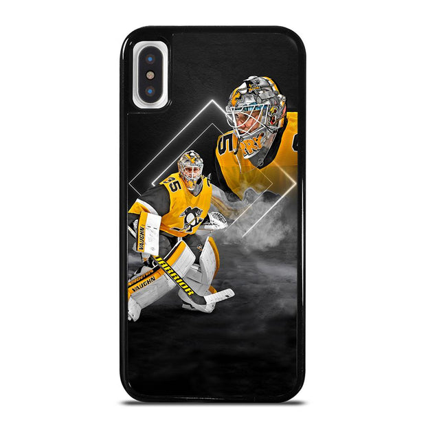 Pittsburgh Penguins Tristan Jarry Poster iPhone X / XS Case