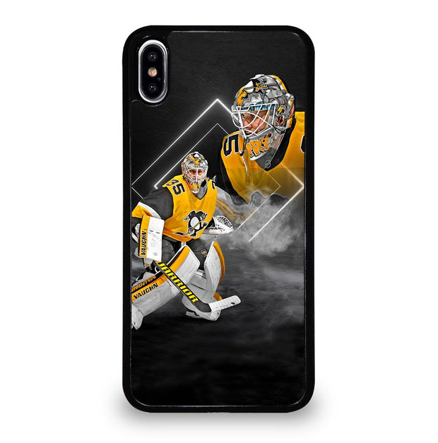 Pittsburgh Penguins Tristan Jarry Poster iPhone XS Max Case