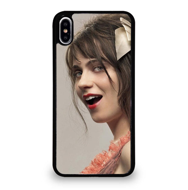 Zooey Deschanel iPhone XS Max Case