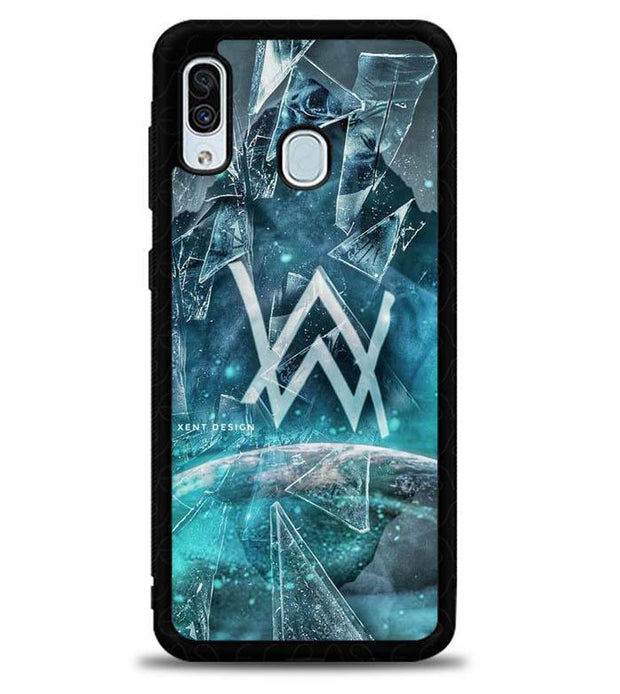 alan wallker W8956 Samsung Galaxy A20 Cover Cases