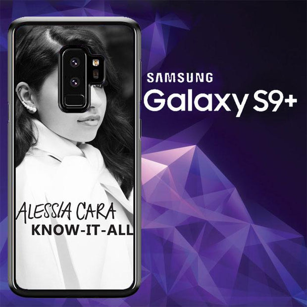 alessia cara bw know it all L0938 Samsung Galaxy S9 Plus Cover Cases