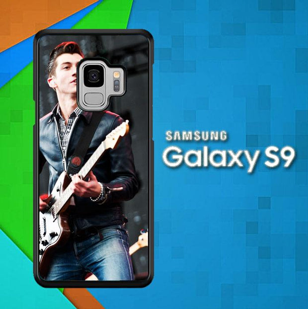 alex turner Y0363 Samsung Galaxy S9 Cover Cases