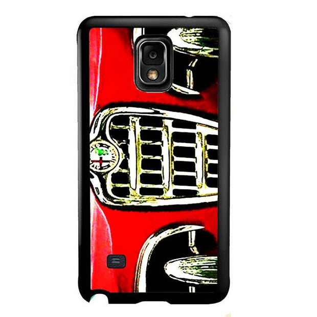 alfa front red A0427 Samsung Galaxy Note 4 Cover Cases
