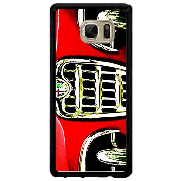 alfa front red A0427 Samsung Galaxy Note FE Fan Edition Cover Cases